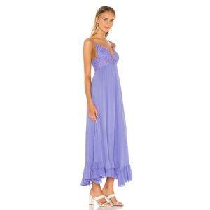 Free People adella maxi dress